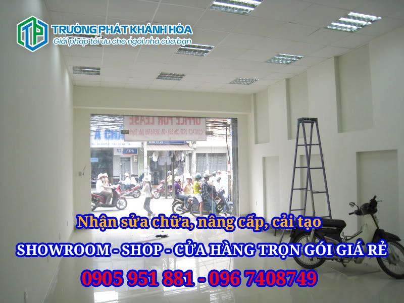 Sửa Chữa Cải Tạo Showroom – Shop – Cửa hàng Nha Trang