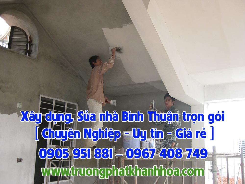 Xây dựng, Sửa nhà Bình Thuận trọn gói [ Chuyên Nghiệp ]